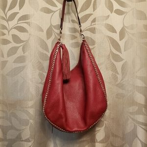 Rebecca Minkoff Maroon Learher Hobo Bag